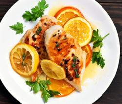 Soy Sauce & Citrus Marinated Chicken Recipe