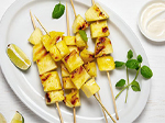 Pittman & Davis Grilled Pineapple with Lime Dip