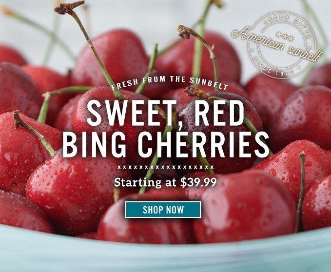 Slide Mobile - Bing Cherries