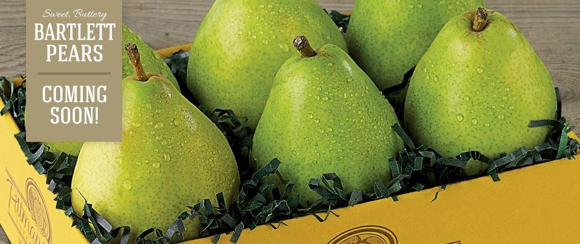 Bartlett Pears - Slide