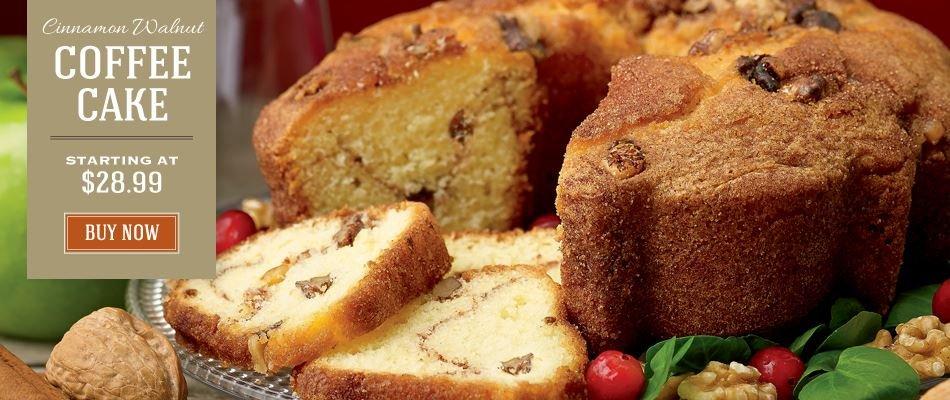 Cinnamon Walnut Cake