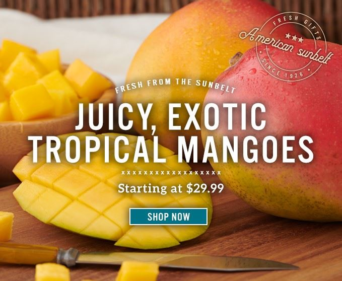 Slide Mobile - Tropical Mangoes