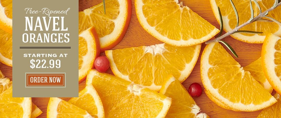 Navel Oranges - Slide