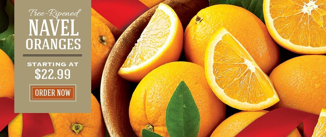 Navel Oranges - Slide