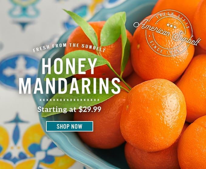 Slide Mobile - Honey Mandarins