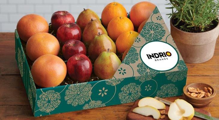Photo of Fruit Gift with Logo