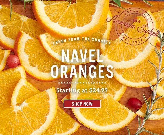 Slide Mobile - Navel Oranges