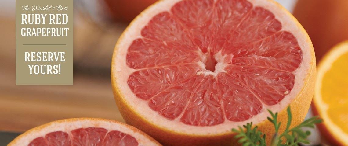 Ruby Red Grapefruit - Slide