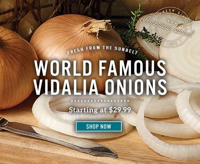 Slide Mobile - Vidalia Onions