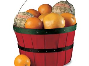 Quarter Bushel Bountiful Basket