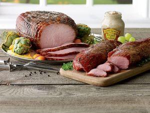Smoked Peppered Boneless Ham
