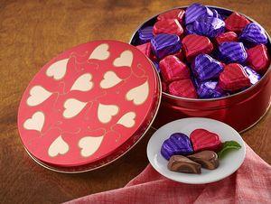 Valentine Peanut Butter & Caramel Hearts