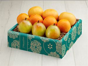3 Grapefruit, 4 Navels Plus 3 Comice Pears