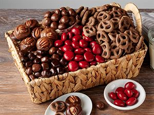 Chocolate-Covered Treats & Sweets Basket