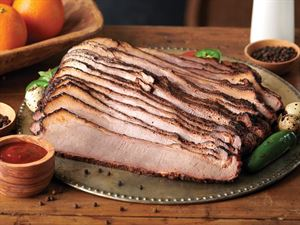Smoked Sliced Beef Brisket