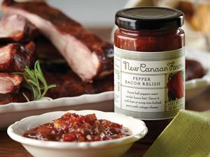 Pepper Bacon Relish