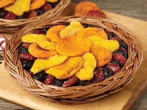 Image result for Peaches & Plums Dried Fruit Tray
