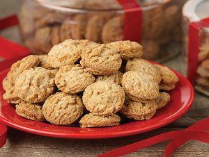 Pecan Shortbead Cookies