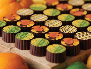 Dark Citrus Truffles