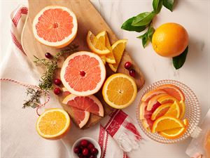 Ruby Red Grapefruit and Navel Oranges