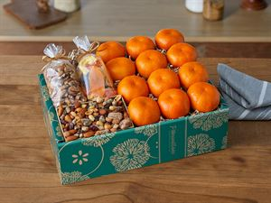 Tangerines & Treats Gift Box
