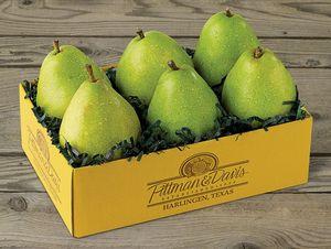 6 Bartlett Pears