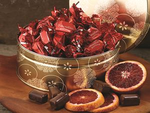 Blood Orange Truffle Melts