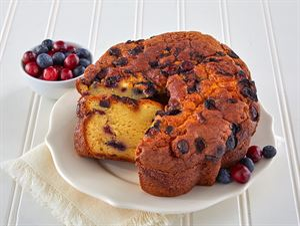 Blueberry & Cranberry Coffee Cake
