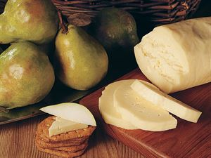 Comice Pears and Havarti or Stilton Cheese