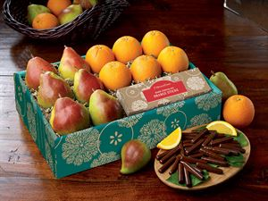 Comice, Navels & Chocolate Orange Sticks