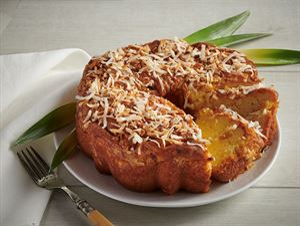 Pineapple & Coconut Coffee Cake