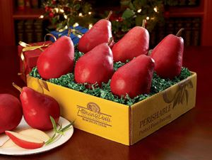 6 Starkrimson Pears