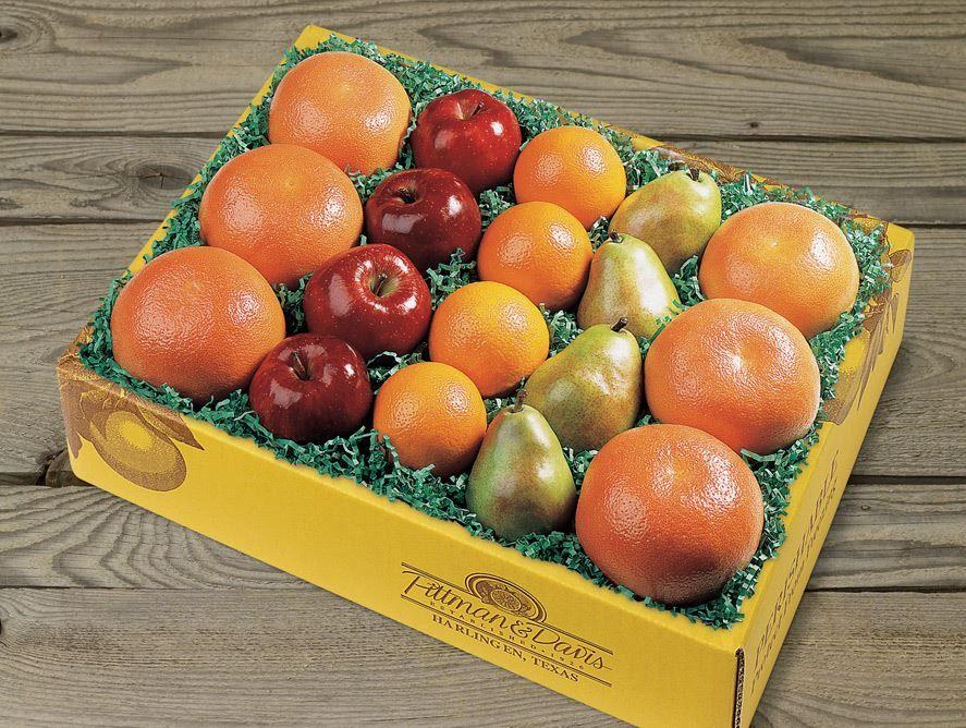 Fresh Fruit Rainbow (Back Page)