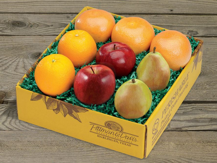 Lite Fresh Fruit Rainbow (Back Page)
