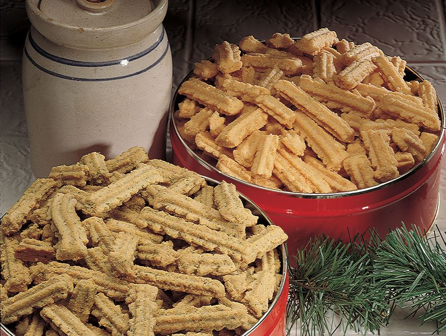 3-Cheese & Classic Cheese Straws