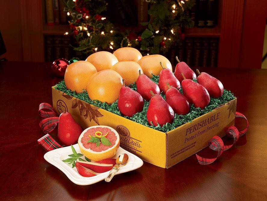 Starkrimson Pears & Ruby Red Grapefruit