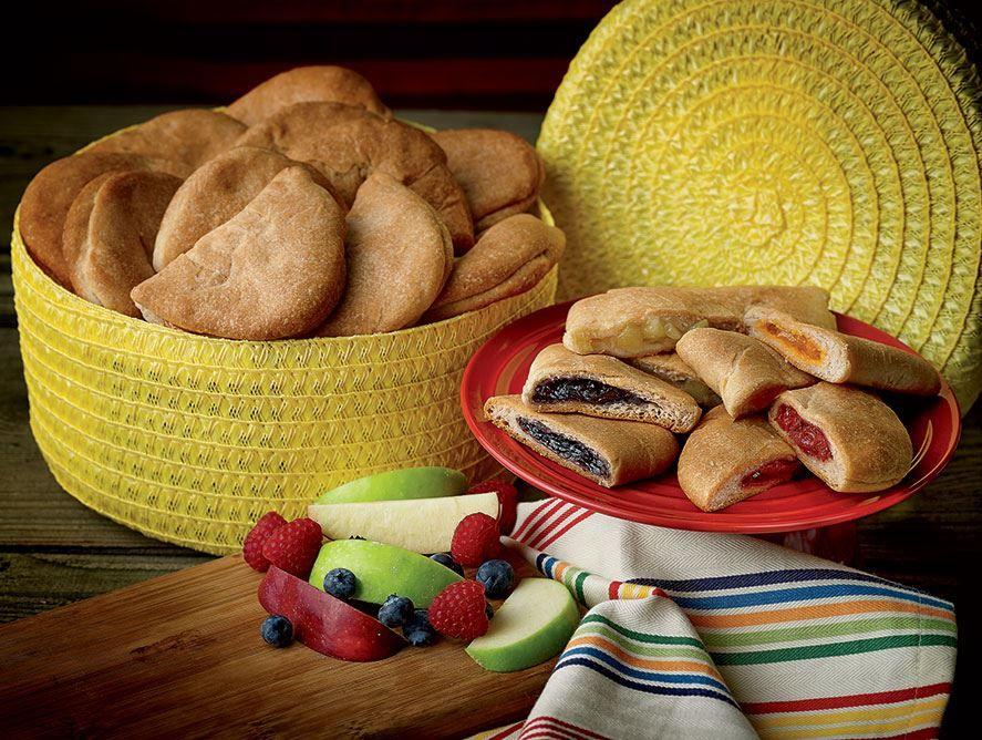 Empanadas in Southwest Maize Basket