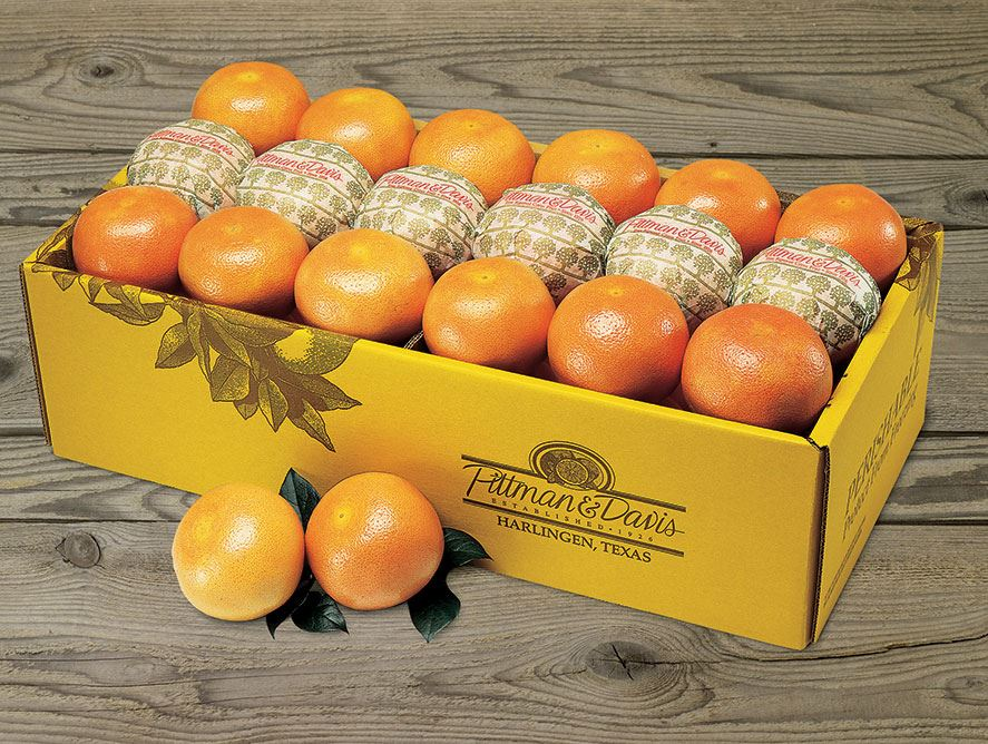 bushel carton of ruby red grapefruit bushel cartons
