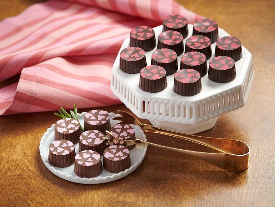Valentine Milk & Dark Chocolate Truffles