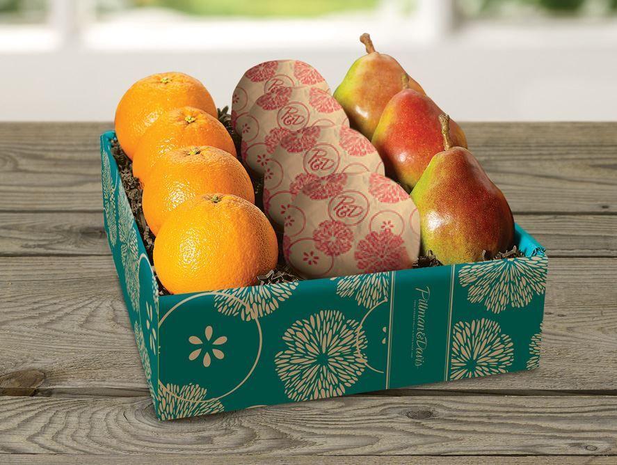 8 Navels Plus 3 Comice Pears
