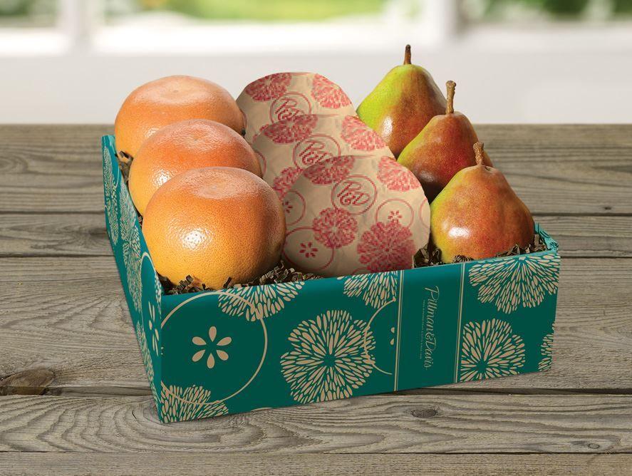6 Grapefruit Plus 3 Comice Pears