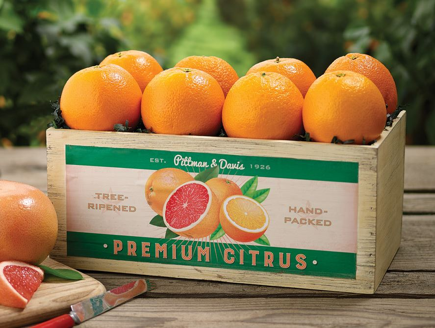 Navel Oranges Crate