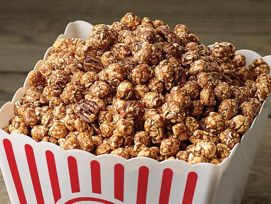 Pecan Cinnamon Popcorn