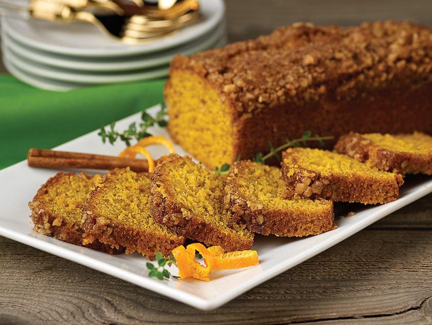 Pumpkin Streusel Bread