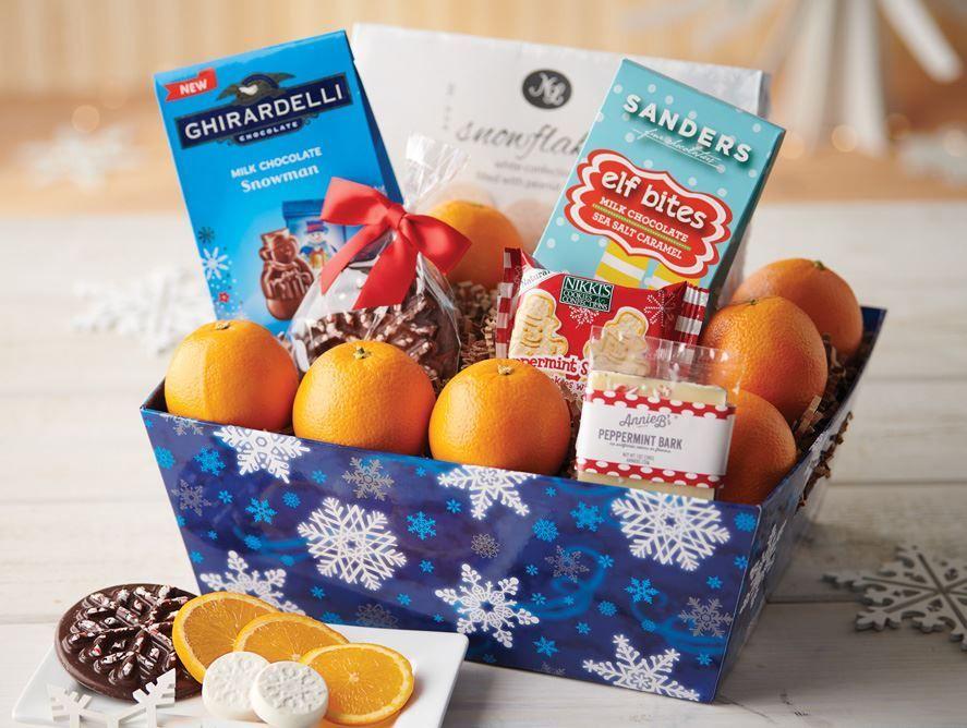 Snowflake Snack Box