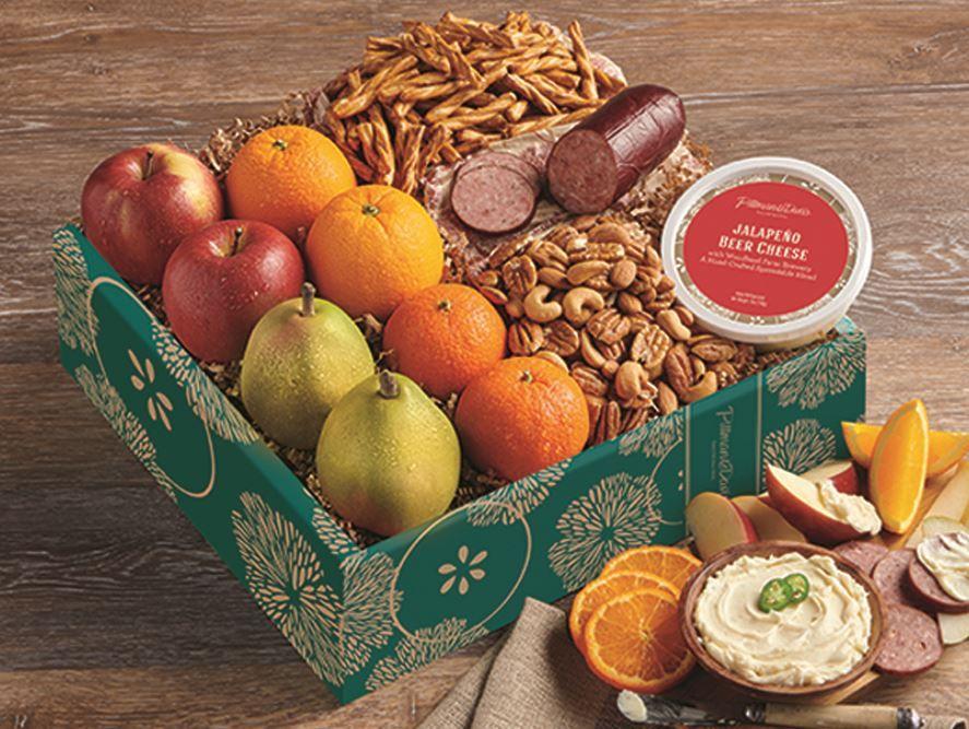 Deluxe Fruit & Snacks Gift Box