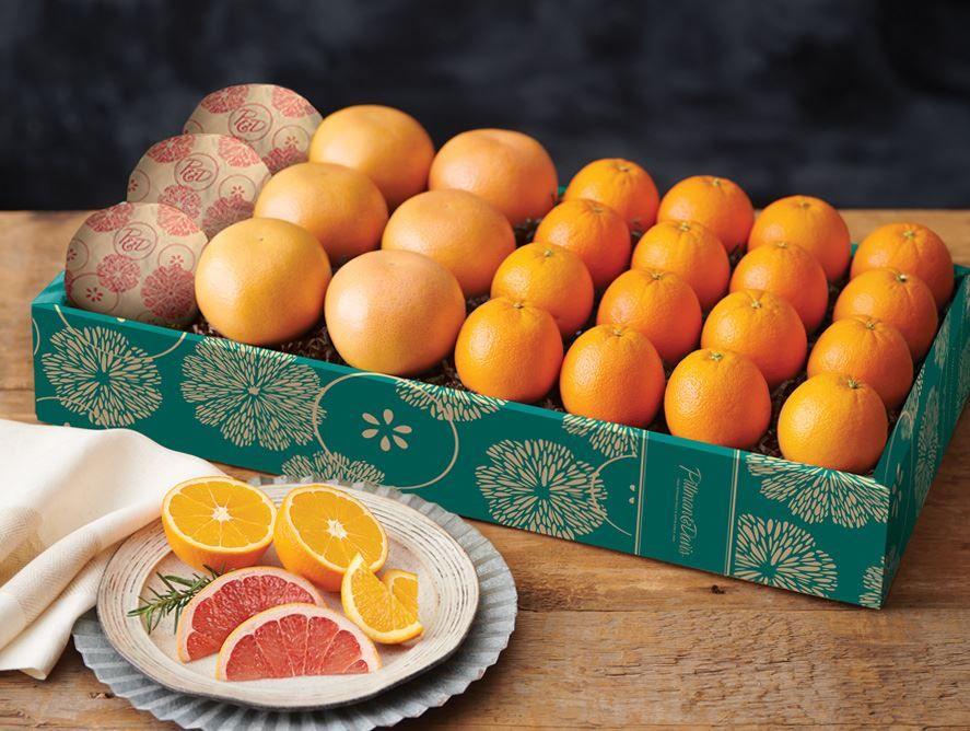 Half-Bushel of Oranges and Grapefruit