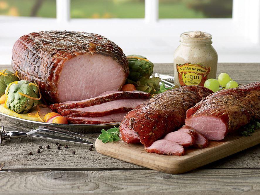 Smoked Peppered Boneless Ham By Pittman & Davis